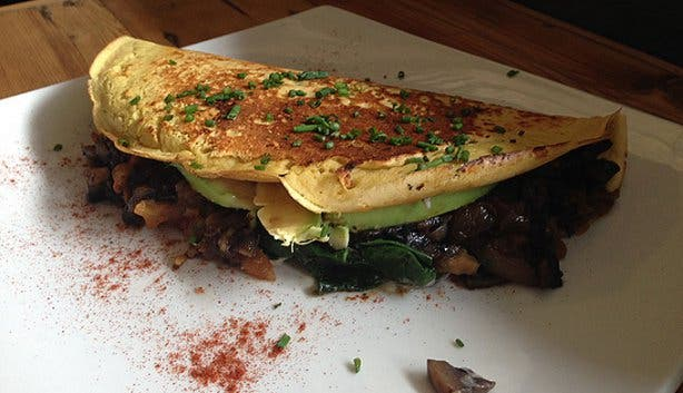 Plant Omelette