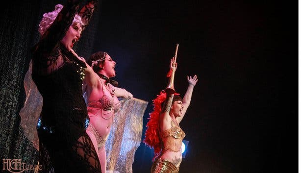 The Star Spankled Burlesque Show
