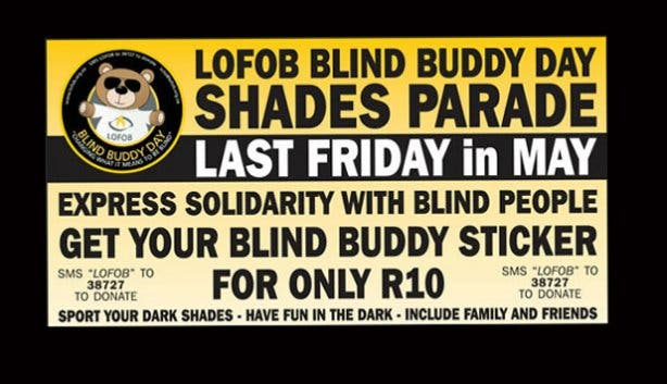 Blind Buddy Day Charity  Fundraiser