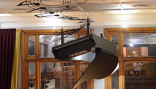 Stardust upside down piano