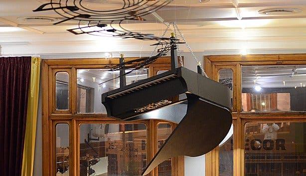 Stardust upside down piano
