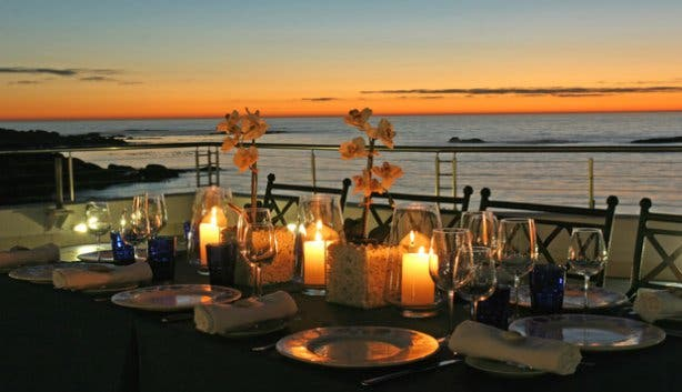 Sundowners at Azure beach Restaurant