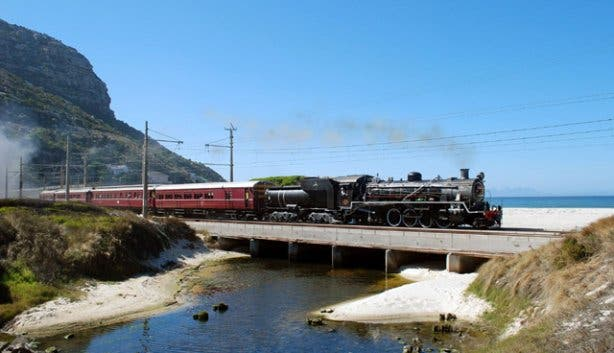 Atlantic Rail Steam Train to Simon's Town