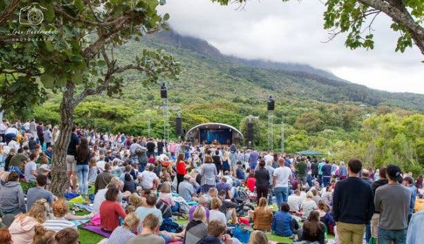 december events kirstenbosch summer sunset concerts