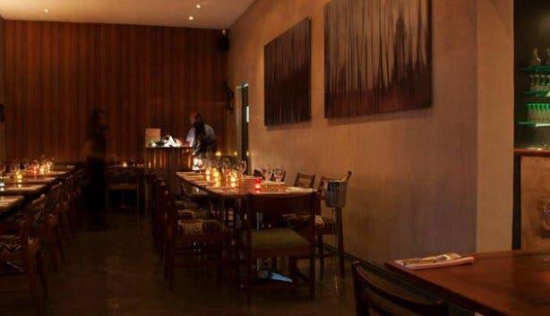 Charcoal Dining Restaurant Interior