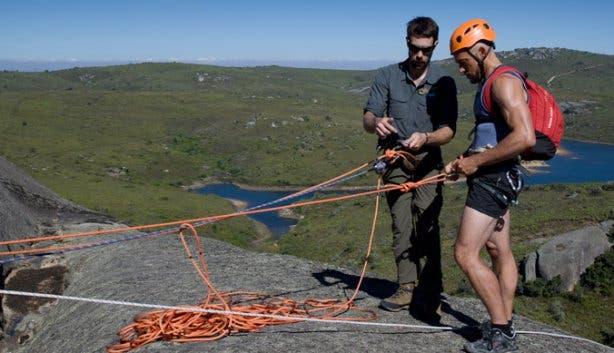 Adventure Abseiling Activities Paarl Rock