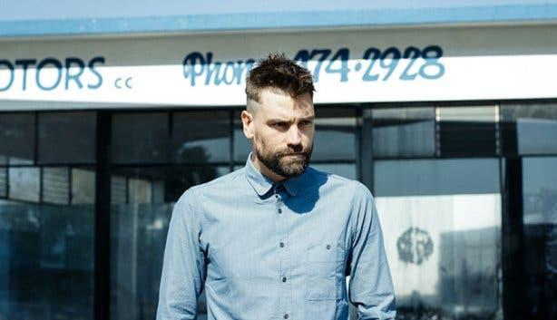 Brett Rogers Blue Shirt
