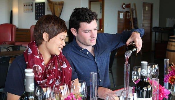 Marianne Wine Estate Wine Blending