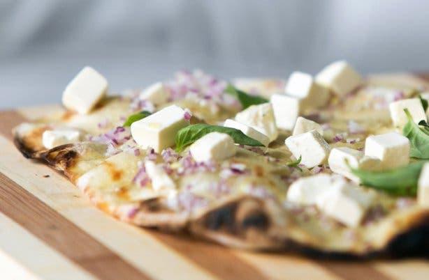 Vegetarian pizza from Festa Wellington