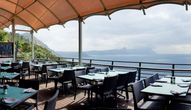 Two Oceans Restaurant deck