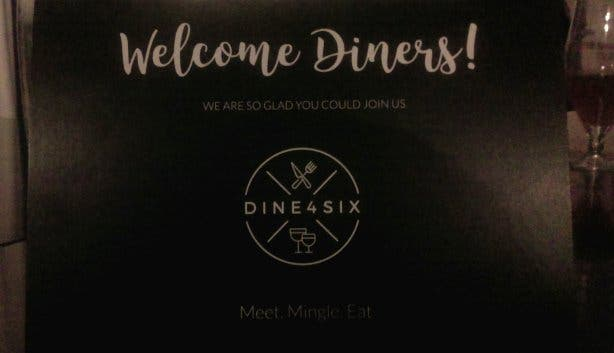 Dine 4 Six, App
