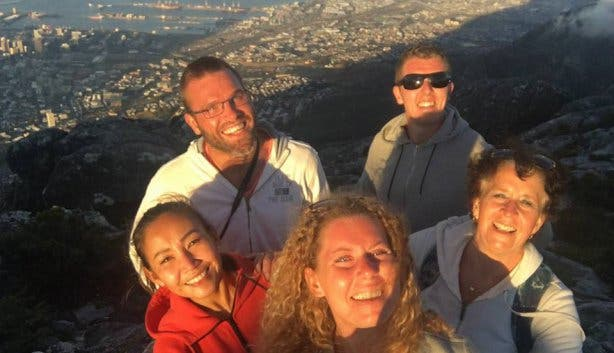 Tafelberg Table Mountain selfie nelly mol