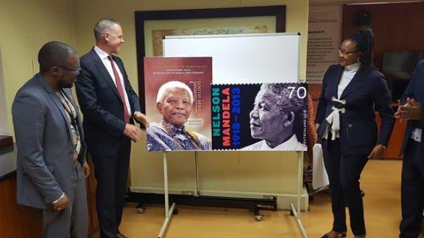 Nelson Mandela Gemeinschaftsbriefmarke 2