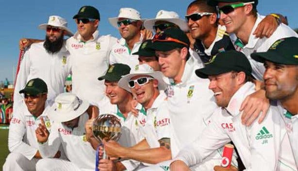 South African test cricket squad
