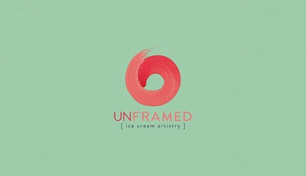 Unframed Ice Cream Logo