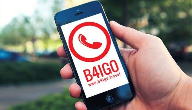 B4IGO Mobile Phone for Tourists in Cape Town