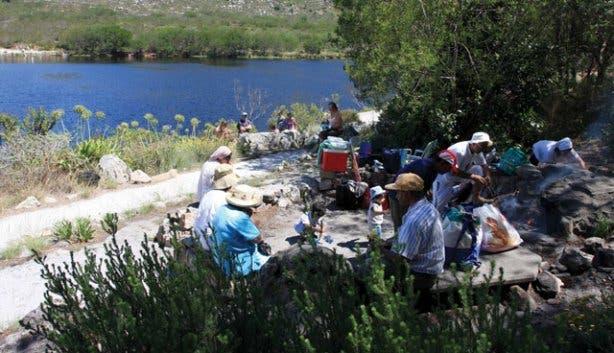 A SanParks picnic spot