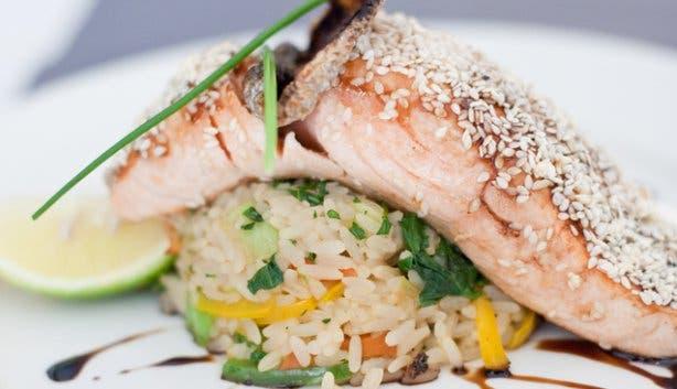 CinCin Restaurant Salmon