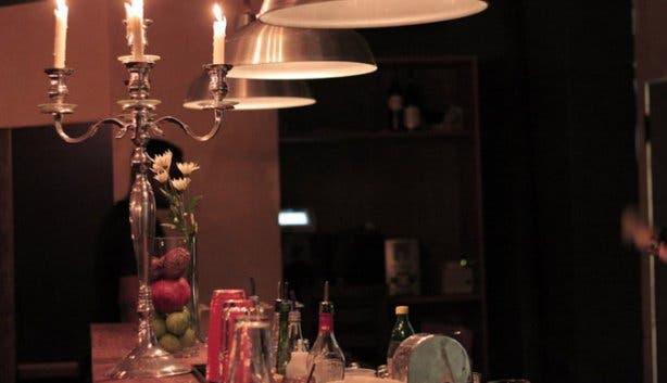 Homespun Restaurant Decor Table View