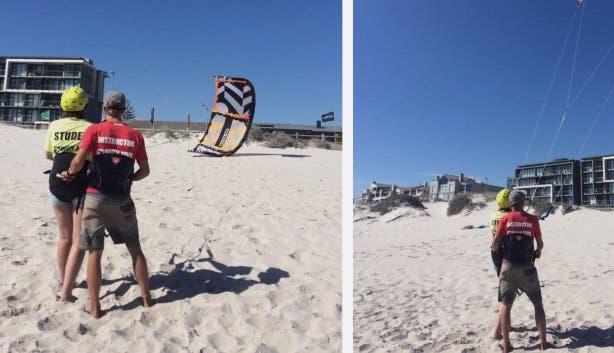 kitesurf high five karlijn