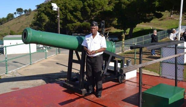 Noon Gun SA Navy