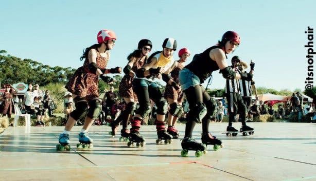 Dusty Rebels & The Bombshells Rockabilly Festival Rollergirls