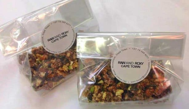 Raw and Roxy Vegan Cafe Granola