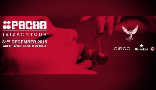 Pacha Ibiza NYE Party in Cape Town