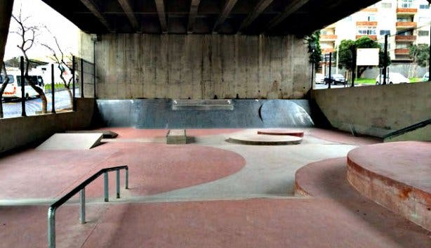 Gardens Skateboarding Park in Cape Town