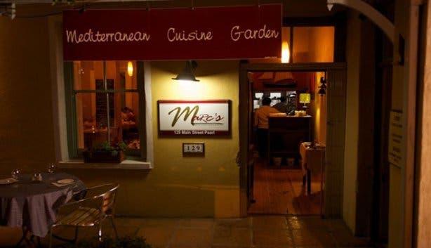 Marc's Mediterranean Cuisine and Garden