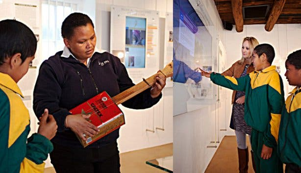 Music van de Caab Museum Guides Franschhoek
