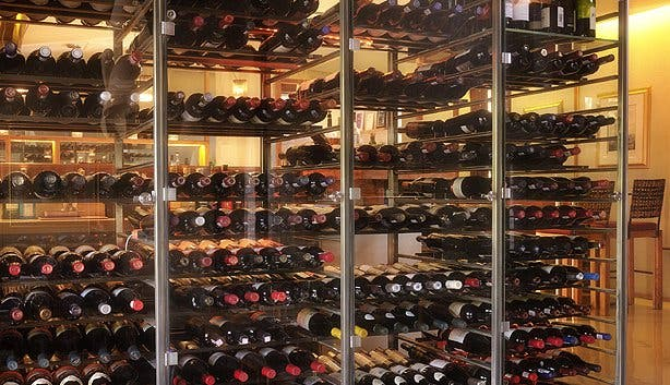 Wine Cellar at Aubergine Cape Town