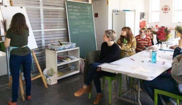 Illustration workshops