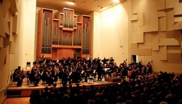 Auditorium orchestra chamber music festival