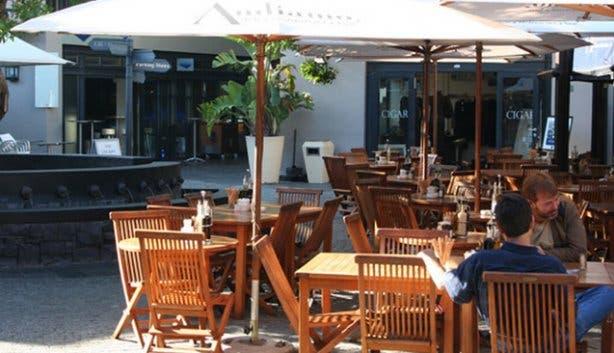 Andiamo Outdoor Restaurant Cape Town