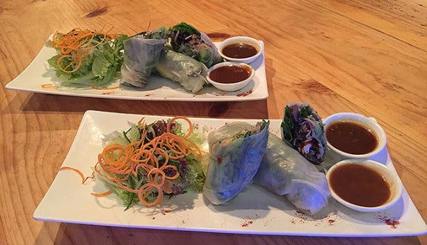 Plant Food Paper Rice Rolls