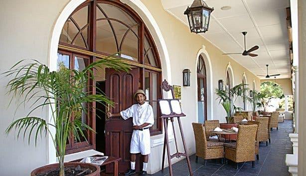 Royal Hotel Entrance