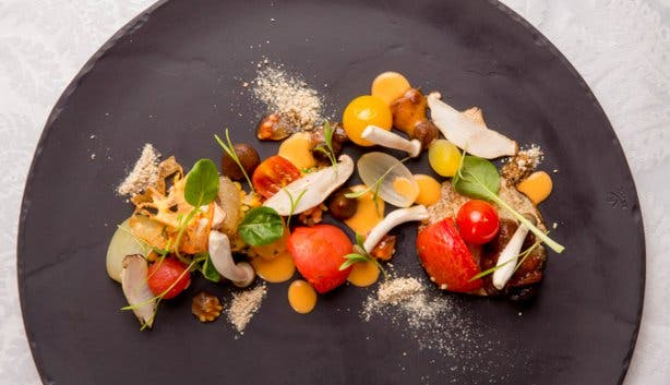 Tomato Variation Starter at Towers Restaurant Cape Town