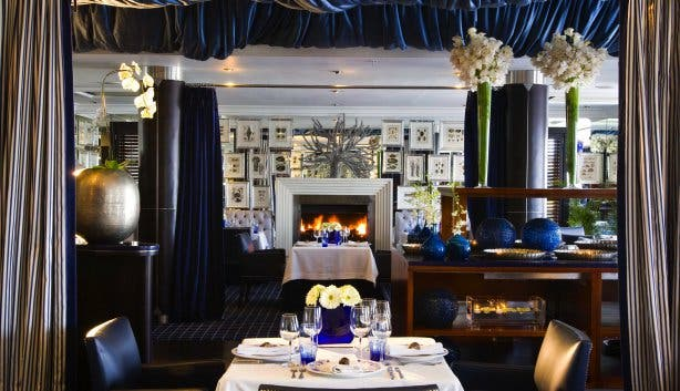 best winter dishes azure restaurant at the 12 apostles