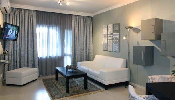 Devonvale apartment lounge