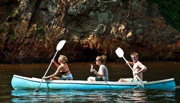 Plett Camping Site Water Activities