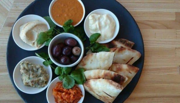 Truffle Halaal Restaurant Mezze Platter Cape Town