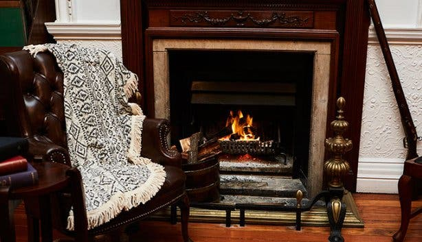 Cape Town Club Fireplace