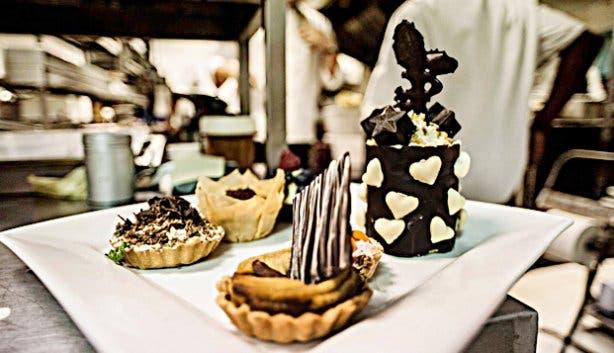 Stardust dessert platter