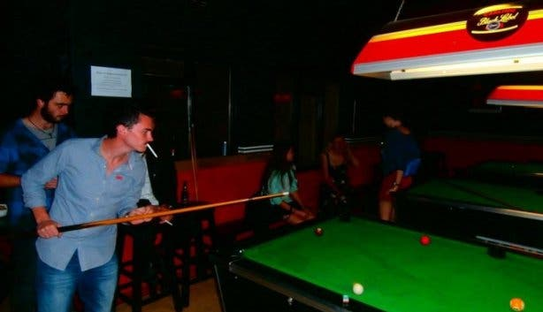 Hectic on Hope pool table