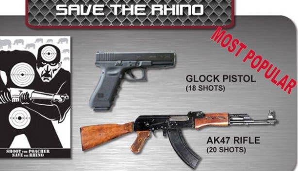 Shoot an AK47 at Gun Fun city centre range