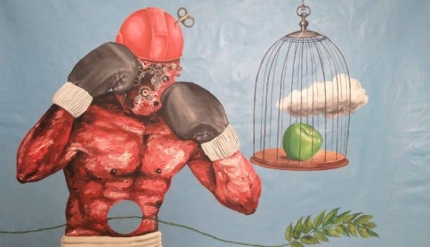 Investec_Cape_Town_Art_Fair_Rhizome, Dramane Diarra, Intellectual Onanism