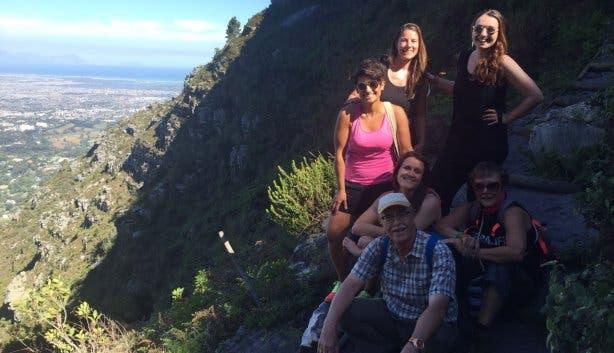 Skeleton Gorge, Yoga & Hike, Stefanie Dohrmann, Kapstadt, Tafelberg, Wandern