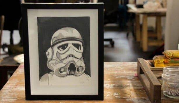 Unsung Art Online Shop Pencil Drawing