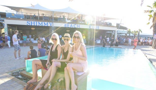 Shimmy Beach Club pool 1